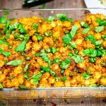 Chikar Cholay 'Chickpeas' Chana Chaat Style
