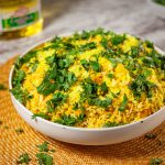 Gujarati Vegan Breakfast Batata Poha Recipe